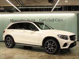 Mercedes-AMG GLC43 4MATIC レザーエクスクルーシブパッケージ(ダイヤモンドホワイト)