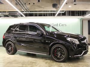 Mercedes-AMG GLE63S 4MATIC AMGエクスクルーシブパッケージ(オブシディアンブラック)