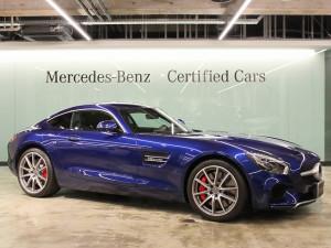 Mercedes-AMG GTS フルレザーパッケージ(ブリリアントブルー)