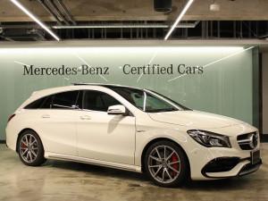 Mercedes-AMG CLA45 4AMTIC シューティングブレーク パノラミックスライディングルーフ(カルサイトホワイト)