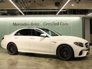 Mercedes-AMG E63S 4MATIC+ エクスクルーシブパッケージ(ダイヤモンドホワイト)