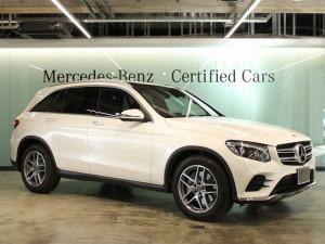 GLC220d 4MATIC スポーツ 本革仕様 Mercedes Me Connect付 (ダイヤモンドホワイト)