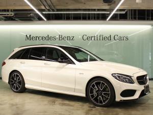 Mercedes-AMG C43 4MATIC ステーションワゴン(ダイヤモンドホワイト)