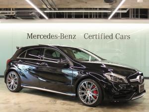 Mercedes-AMG A45 AMGアドバンスパッケージ・パノラミックスライディングルーフ(コスモスブラック)