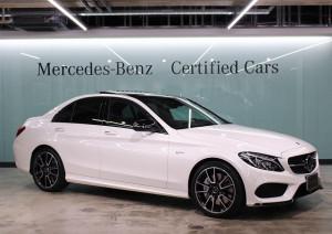 Mercedes-AMG C43 4MATIC エクスクルーシブパッケージ (ダイヤモンドホワイト)