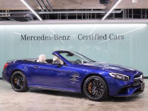 Mercedes – AMG SL63 AMGカーボンパッケージ (ブリリアントブルー)