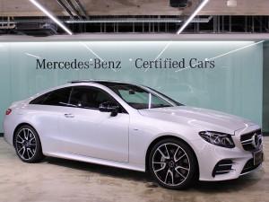 Mercedes-AMG E53 4MATIC+ クーペ エクスクルーシブパッケージ (イリジウムシルバー)
