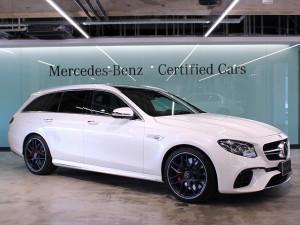 Mercedes-AMG E63S 4MATIC+ ステーションワゴン エクスクルーシブパッケージ (ダイヤモンドホワイト)