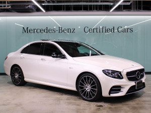 Mercedes-AMG E43 4MATIC シートベンチレーション (ダイヤモンドホワイト)