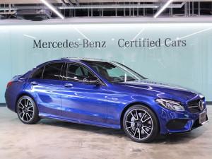 Mercedes-AMG C43 4MATIC / レザーエクスクルーシブパッケージ (ブリリアントブルー)