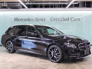 Mercedes-AMG E53 4MATIC+ ステーションワゴン / エクスクルーシブパッケージ (オブシディアンブラック)